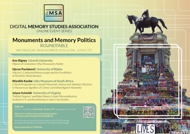 Roundtable Monuments and Memory Politics