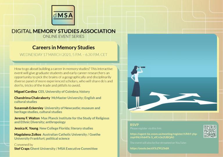 Careers in Memory Studies